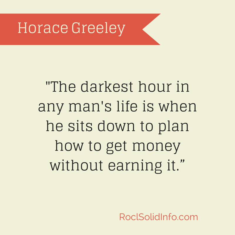 Horace Greeley Quote